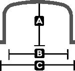 Flat Bottom Utility Tank Bands
