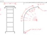 Elliptical Leg Tank Ladder